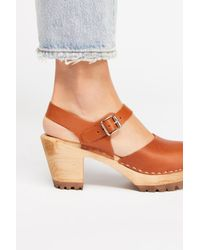 Free People - Multicolor Abby Clog By Mia Shoes - Lyst