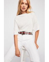 dd99d3a32 Free People She's So Cool Tee in White - Lyst