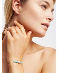 Free People | Natural Libi Stone Bracelet | Lyst