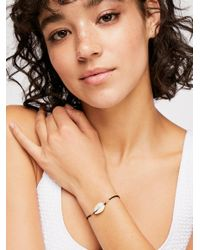 Free People - Black Cowry Shell Bracelet - Lyst