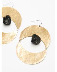 Free People - Metallic Rising Sun Turquoise Earrings - Lyst