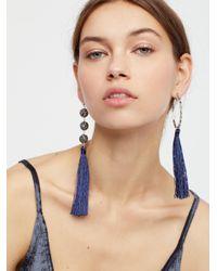 Free People - Multicolor Kellen Mixed Tassel Earrings - Lyst