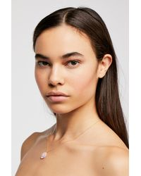 Free People - Metallic Marida Refine Necklace - Lyst
