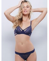Free People - Purple Dream Of Me Thong Dream Of Me Underwire Bra - Lyst