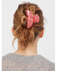 Free People - Pink Desert Storm Claw - Lyst
