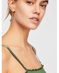 Free People - Green End Game Bandeau By Intimately - Lyst