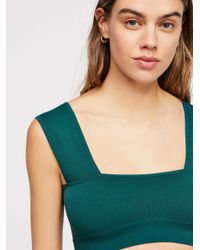 Free People - Green Such A Square Crop - Lyst