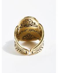 Free People - Metallic Spirit Stone Ring - Lyst