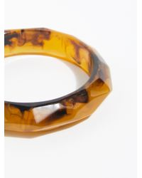 Free People - Multicolor Resin Bangle - Lyst