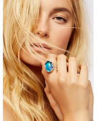 Free People | Metallic Many Moods Mood Ring | Lyst