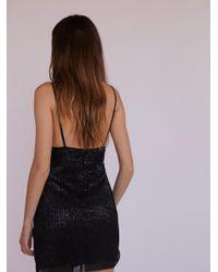 Free People - Black Frankie Mini Dress - Lyst