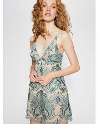 722c88572da6 Free People. Women's Night Shimmers Mini Dress