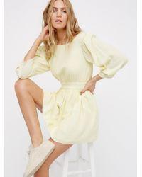 Free People - Multicolor Antigua Mini Dress - Lyst
