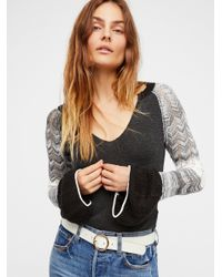 Free People - Black We The Free Sunshine Thermal - Lyst