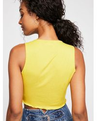 Free People - Multicolor Top Notch Crop By Intimately - Lyst