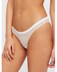 Free People - White Vex Mesh Bikini By Intimately - Lyst