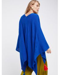 Free People - Blue Spirit In The Sky Travel Scarf - Lyst