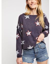 Free People - Multicolor American Babe Pullover - Lyst