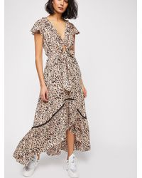 Free People - Multicolor Capri Tie-up Midi Dress - Lyst