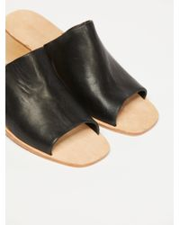 Free People - Black Barbados Mini Wedge Sandal - Lyst