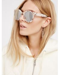 Free People - Multicolor Abbey Road Sunglasses - Lyst