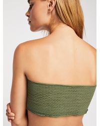 Free People - Green Too Late For You Tube By Intimately - Lyst