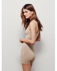 Free People - Natural Seamless Romper - Lyst