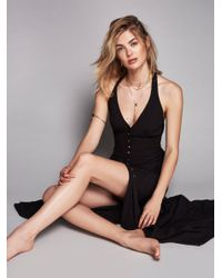 Free People | Black All About It Maxi | Lyst