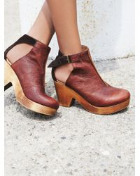 Free People | Brown Amber Orchard Clog | Lyst
