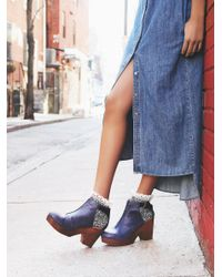 Free People | Purple Amber Orchard Clog | Lyst