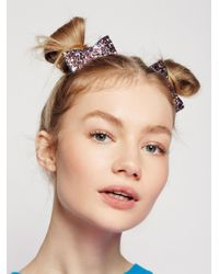 Free People | Multicolor Ariana Bow Barrettes | Lyst