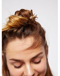 Free People - Metallic Kingdom Hair Pick - Lyst