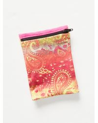 Free People | Pink Banjees Wrist Wallet | Lyst