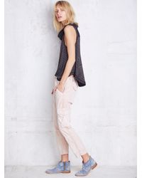 Free People | Pink Basquiat Pant | Lyst