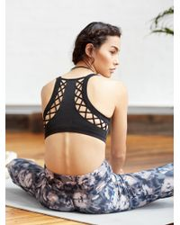 Free People | Black Moon Bra | Lyst