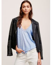 Free People | Blue Bombay Tank | Lyst
