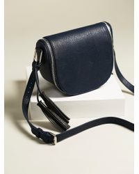 Free People | Black Bond St. Saddle Bag | Lyst