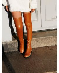 Free People | Multicolor Breakaway Over The Knee Boot | Lyst