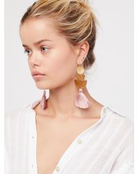 Free People - Multicolor Bryce Canyon Tassel Earrings - Lyst