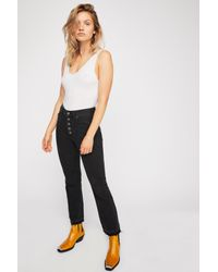 Free People - Black The Dylan High-rise Bootcut Jeans By We The Free - Lyst