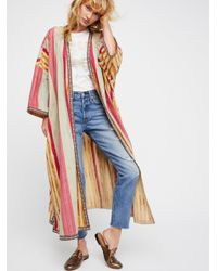 Free People - Multicolor Meadowsweet Robe - Lyst
