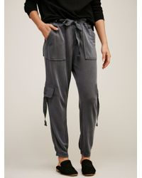 Free People - Black Cannon Pant - Lyst