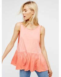 Free People   Multicolor Cantina Tank   Lyst