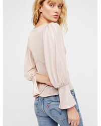 Free People - Pink Clothes Tops & Tees Blouses Killer Queen Top - Lyst