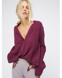 Free People | Multicolor Changing Horizons Pullover | Lyst