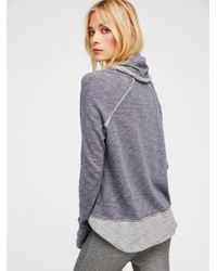 Free People - Multicolor Cocoon Pullover - Lyst