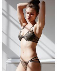 Free People | Multicolor Constellation Bikini Constellation Underwire Bra | Lyst