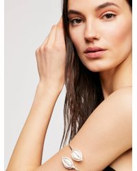 Free People - Multicolor Cowry Armband - Lyst