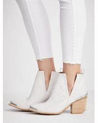 653fd1b94140 Free People Hunt The Plains Boot in White - Lyst