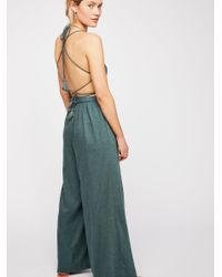 Free People - Blue Got Your Back Jumpsuit - Lyst